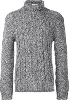 Etro cable-knit jumper