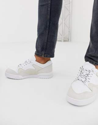 Lacoste Court Point chunky trainers in white