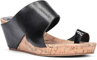 Donald J Pliner Gemmy Wedge Slide Sandal