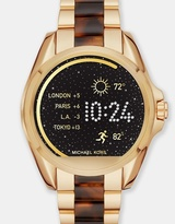 Michael Kors Smartwatch Bradshaw Gold and Tortoise