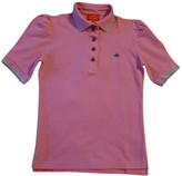 Vivienne Westwood Pink Cotton Top for Women