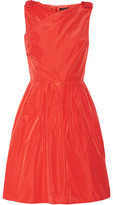 Raoul Jeanette Bow-Embellished Taffeta Dress