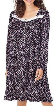 Eileen West Floral Short Nightgown