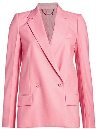 Givenchy Structured Double Breasted Jacket