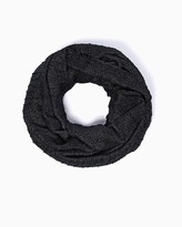 Charming charlie Shimmering Pleated Infinity Scarf