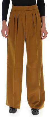 Max Mara Pleated Wide-Leg Trousers