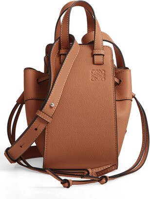 Loewe Mini Hammock Calfskin Leather Hobo Bag