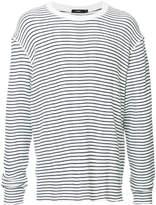 Bassike striped waffle knit jumper