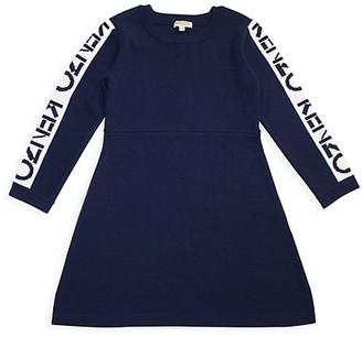 Kenzo Little Girl's & Girl's Logo Sweater Dress