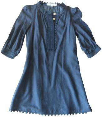 Designers Remix Anthracite Cotton Dress for Women