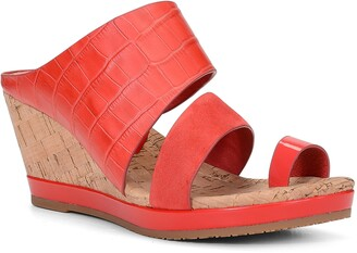 Donald J Pliner Montce Wedge Slide Sandal