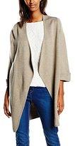 Selected Women's Long Sleeve Cardigan - Grey -