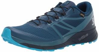 Salomon Men's Sense Ride2 GTX Invisible Fit Trail Running Shoes