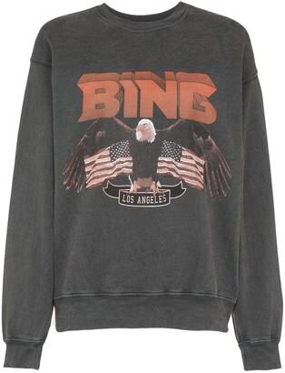 Anine Bing Eagle print sweatshirt