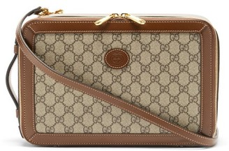 Gucci GG-monogram Canvas Cross-body Bag - Beige Multi