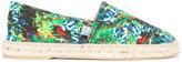 fe-fe tropical print espadrilles - unisex - Canvas/rubber - 40