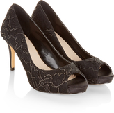 Monsoon Madineh Lace Peep Toe
