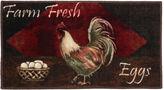 JCPenney Vintage Rugs Vintage Rooster Kitchen Washable Rectangular Rug