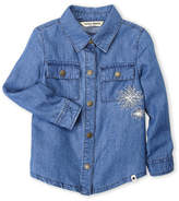 Lucky Brand Toddler Girls) Embroidered Denim Shirt