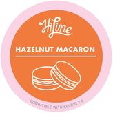 HiLine Coffee 10-Count Hazelnut Macaron Podsfor Single Coffee Makers