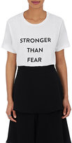 "Prabal Gurung Women's ""Stronger Than Fear"" T-Shirt"