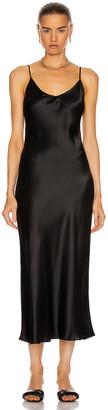 SABLYN Taylor Slip Dress in Black | FWRD