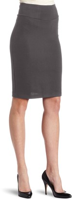 Only Hearts Women's Double Knit Knee Length Pencil Skirt