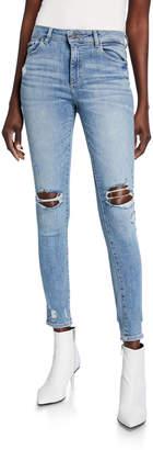 DL1961 Premium Denim Florence Destroyed Instasculpt Skinny Jeans