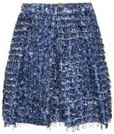 Proenza Schouler fringed pleated mini skirt