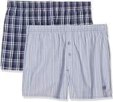 S'Oliver Men's Boxer shorts Pack of 2, White 11B7