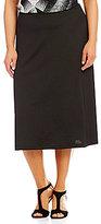 Kasper Plus Knit Concepts A-Line Skirt
