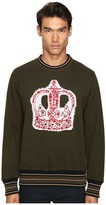 Vivienne Westwood Crown Embroidery Sweatshirt