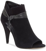 Vince Camuto Annavay Peep-Toe Booties Women's Shoes