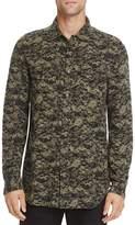 Diesel S-Bancs Button-Down Long Sleeve Regular Fit Shirt
