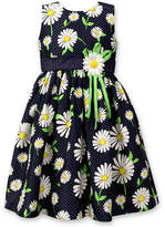 Jayne Copeland Daisy-Print Sundress, Toddler & Little Girls (2T-6X)