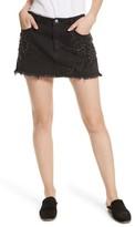 Free People Women's Shine Bright Shine Far Beaded Miniskirt