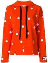 Au Jour Le Jour sequin embellished hoodie