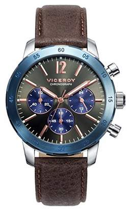 Watch Viceroy 471033 - 55 Chronograph Steel Leather Man