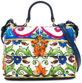 Dolce & Gabbana embellished printed shoulder bag