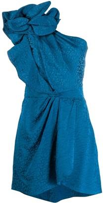Johanna Ortiz Opponent Interpretation one-shoulder dress