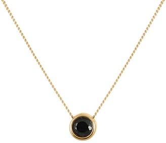 Lee Renee Black Spinnel Brilliant Cut Necklace