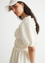 Thumbnail for your product : And other stories Voluminous Puff Sleeve Mini Dress