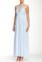 Decode 1.8 Jeweled Illusion Neck Dress 182478LT