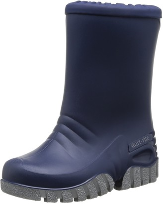 Start Rite Start-rite Baby Mud Buster Unisex Kids Wellington Boots Blue (Navy) 25 EU