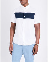 Michael Kors Block-stripe Regular-fit Cotton Polo Shirt