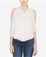 Catherine Malandrino Cold-Shoulder Blouse