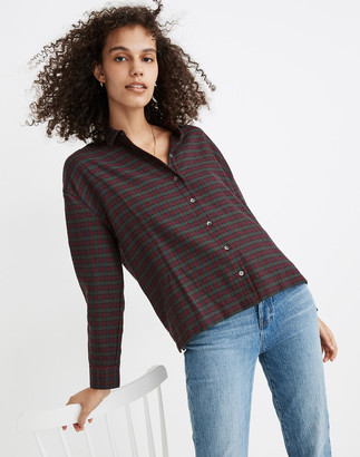 Madewell Westlake Shirt in Pfeiffer Plaid