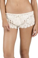 Volcom Women's Dwell Crochet Cover-Up Shorts