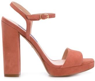 Stuart Weitzman Desert Rose sandals