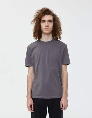 Maison Margiela S/S Garment Dyed Tee in Lead Grey